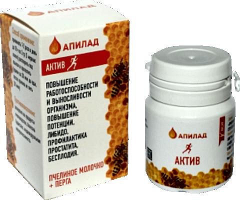 АКТИВ (Перга + Пчелиное молочко)